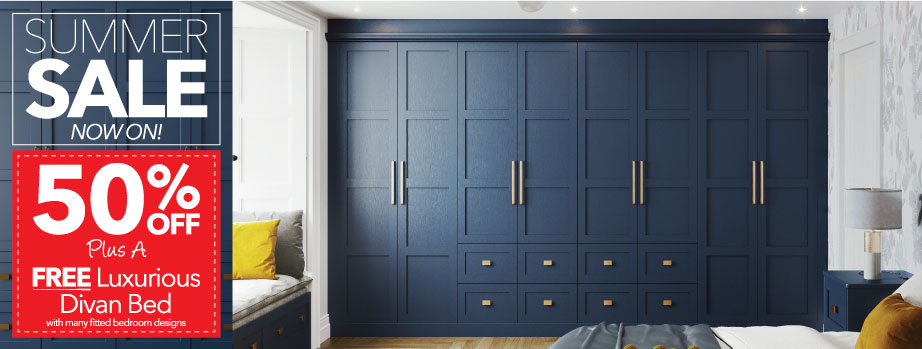 Starplan Fitted Bedroom offers - 50% off plus an extra 10%
