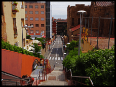 Park Guell Escalator