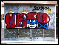 Smurf Graffiti