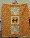 """Gisela O"""" Connor - Comfort quilt with 1st time pieced backing"""