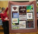 Laurie Lyons - Tee Shirt quilt