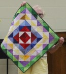 Judi Byrd - Color Triangles quilt