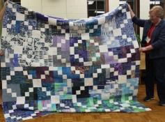Susan Kraterfield - Blue Scraps Quilt