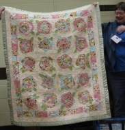 Susan Kraterfield - Rosy Posey Baby Quilt.