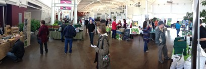 The EcoLiving showroom on our first day