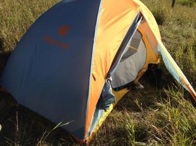 Jupiter makes herself at home at the camp