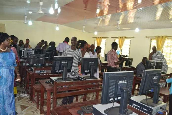 Church of Pentecost commissions Ultra-Modern ICT lab, library at Akyem Nkronso 2
