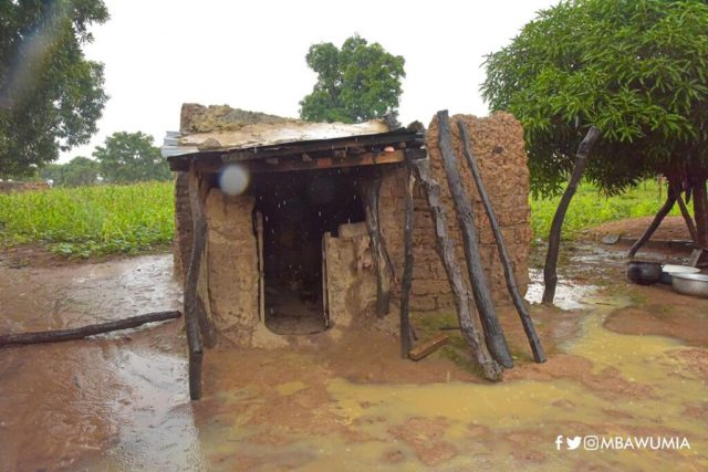 B-696x651 Bawumia hands over house to 82yr old abandoned cured leper