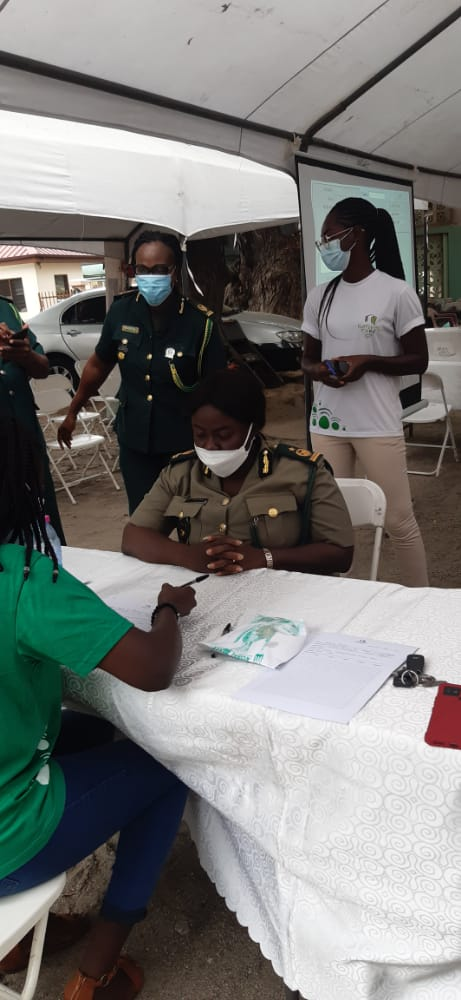 Immigration Officers in Greater Accra undergo health screening 3