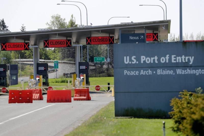 美加边境开放