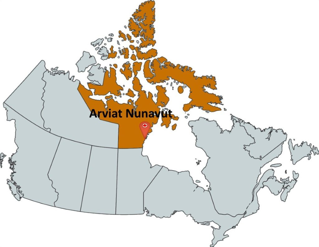 where is arviat nunavut