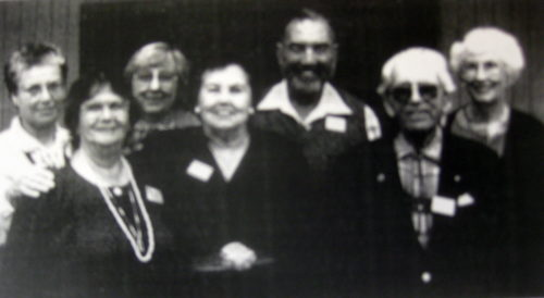 Pioneers who joined before 1960: Renata Ornea, Bryne Golec, Margaret Bried, Cathy Dye, Claus Bried, Art Emmes, Phyllis Perry