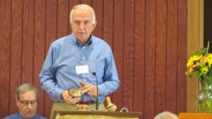 Bob Britton at Labor Day Service 2015