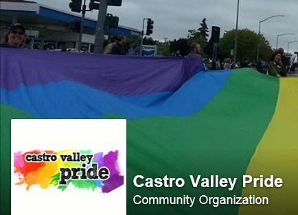 We support Castro Valley Pride