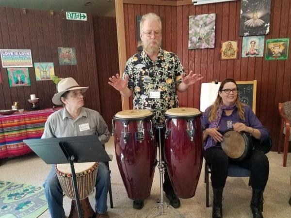 Unitarian Universalist drummers