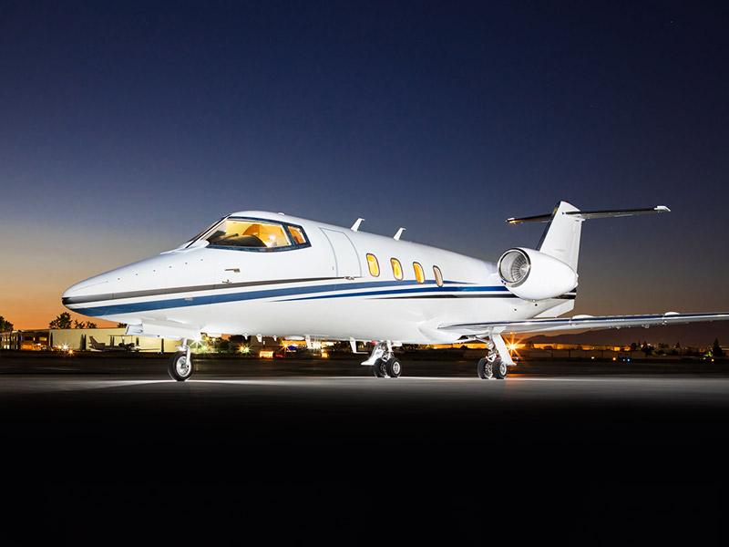 Bombardier Learjet 55 Private Jet Hire