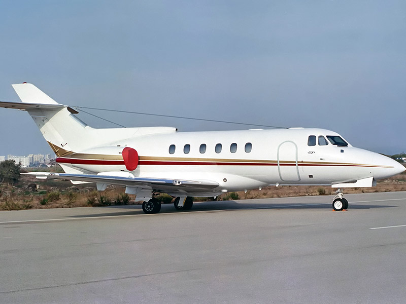 Bae Hawker 600 Private Jet Hire