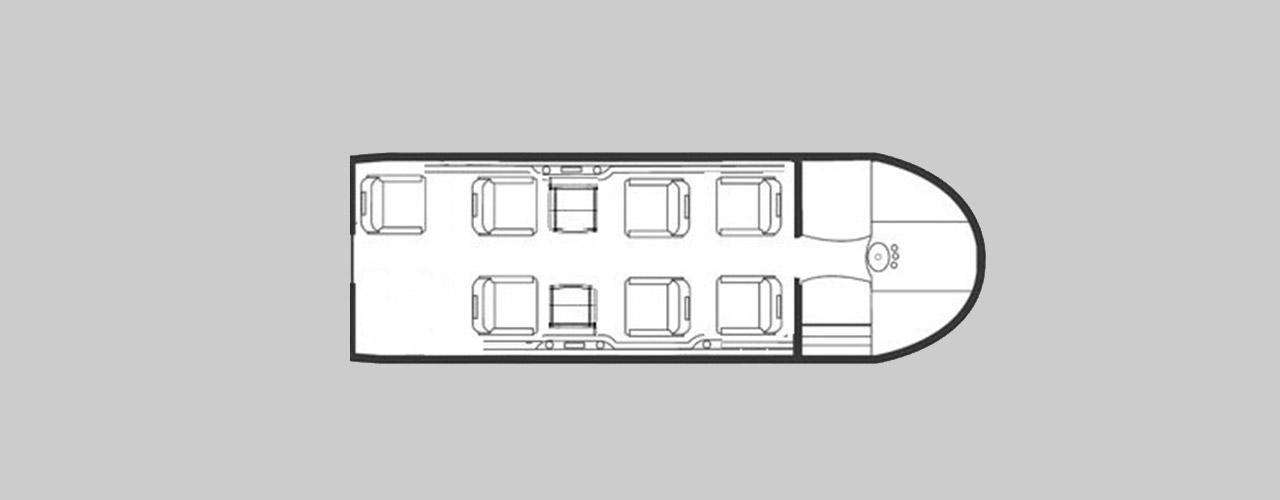 Bae 125 - 400 Private Jet Hire