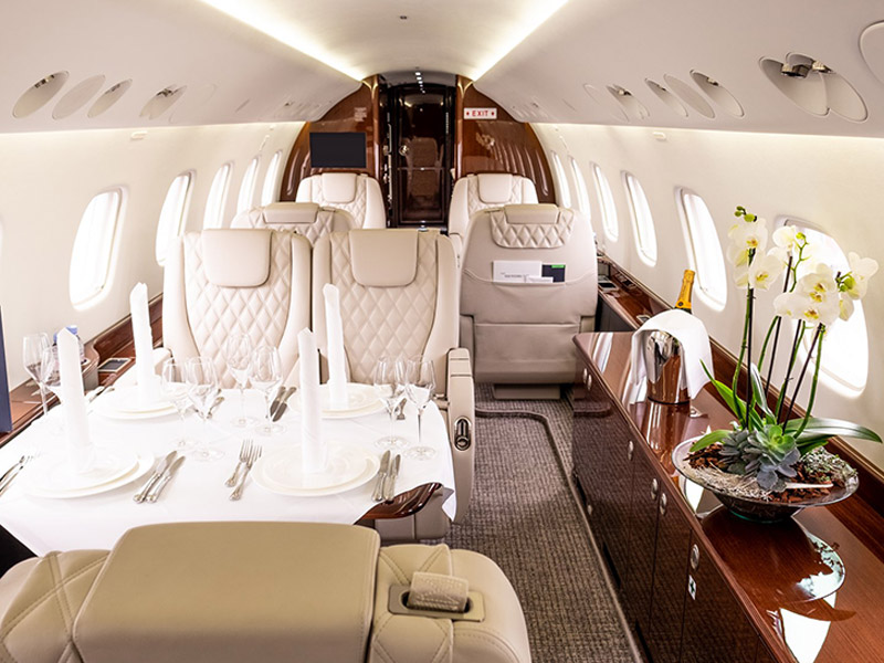 Embraer Lineage 1000 Private Jet Hire