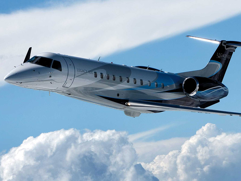 Embraer Legacy 600 Private Jet Hire