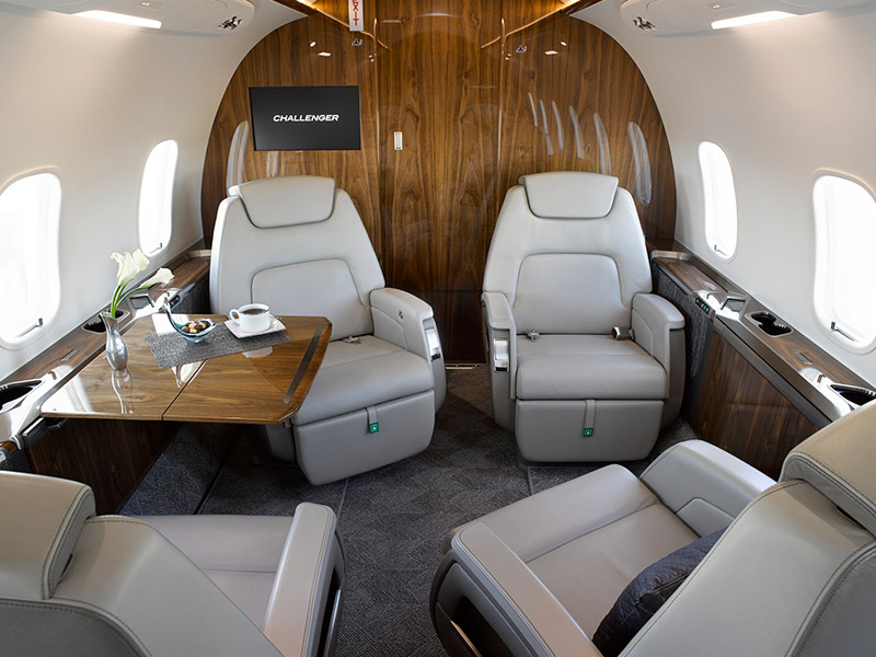Bombardier Challenger 350 Private Jet Hire