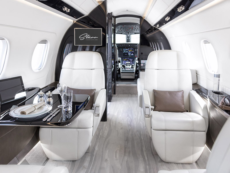 Embraer Legacy 450 Private Jet Hire