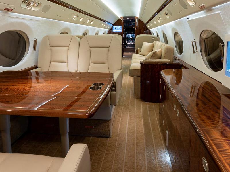 Gulfstream G350 Private Jet Hire