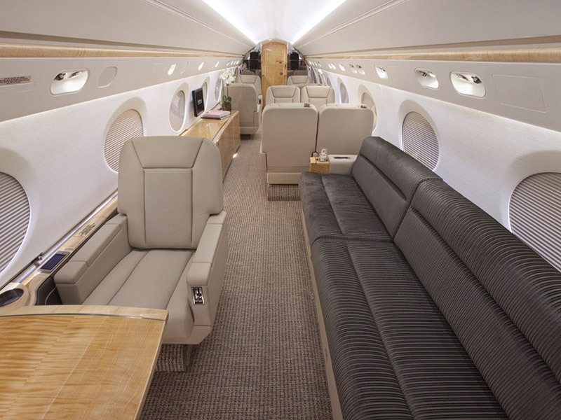 Gulfstream GV Private Jet Hire