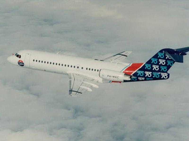 Fokker F70 Private Jet Hire