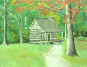 1 Little Cabin In The Woods 2013 11x14