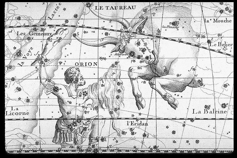 Orion/Taurus region in Fortin and Lalande
