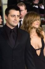 Matt Leblanc und Jennifer Aniston