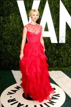 Claire Danes im Februar 2012 auf der Vanity Fair Oscar Party