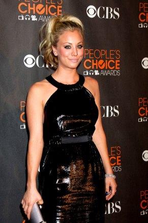 Kaley Cuoco im Januar 2010 auf den People's Choice Awards