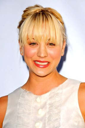 Kaley Cuoco im Juli 2007 auf der CBS Summer Press Tour