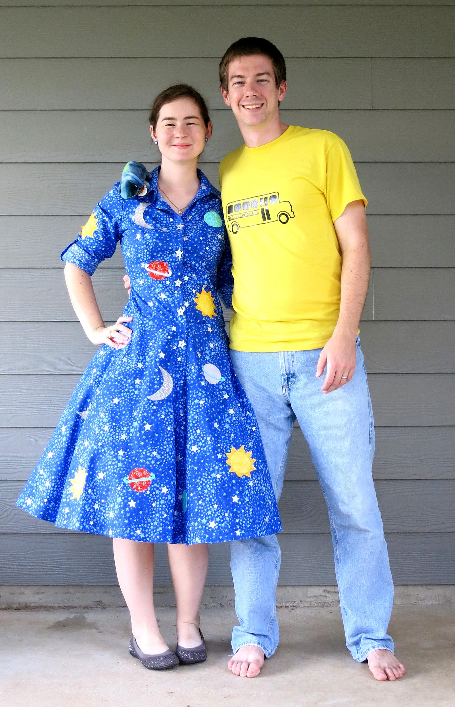 Magic School Bus Halloween Costumes Stars Amp Sunshine