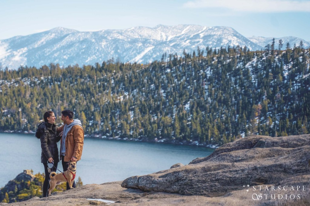 Lake Tahoe Wedding Photographer Starscape Studios at Emerald Bay State Park Proposal | South Lake Tahoe, CA | Nathan + Leandra