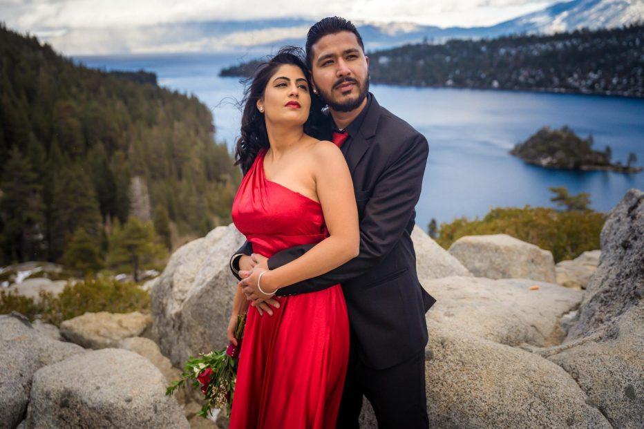 Tahoe elopement at Emerald Bay, South Lake Tahoe, CA