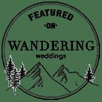 Wandering Weddings Featured Badge Starscape Studios