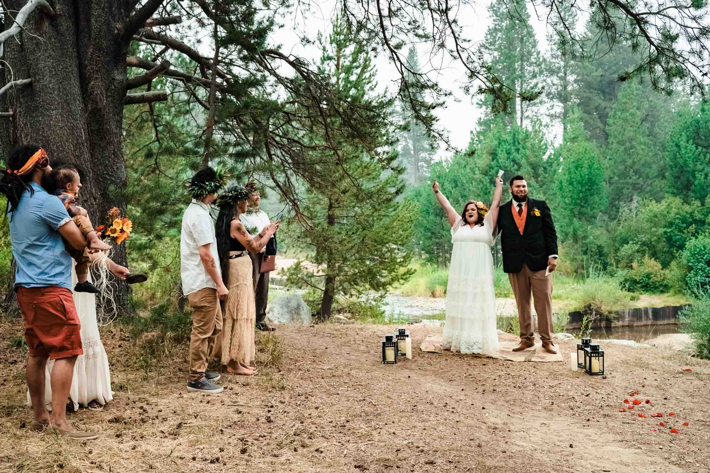 Autumn elopement in South Lake Tahoe