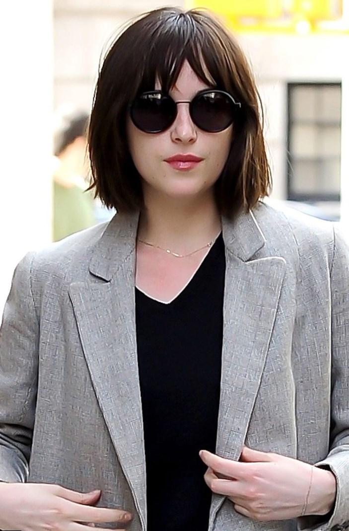 Celebrity Dakota Johnson Hair Changes Photos Video