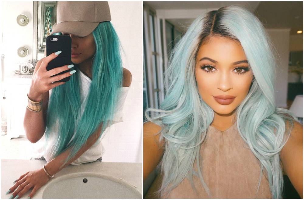 Celebrity Kylie Jenner Hair Changes Photos