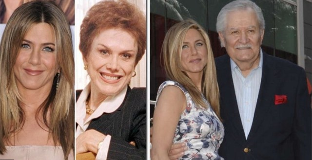 Image result for jennifer aniston and parents