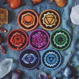 7 Chakra Gift Set - 7 Iron-On Patches