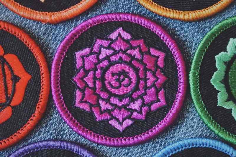 Crown Chakra Patch