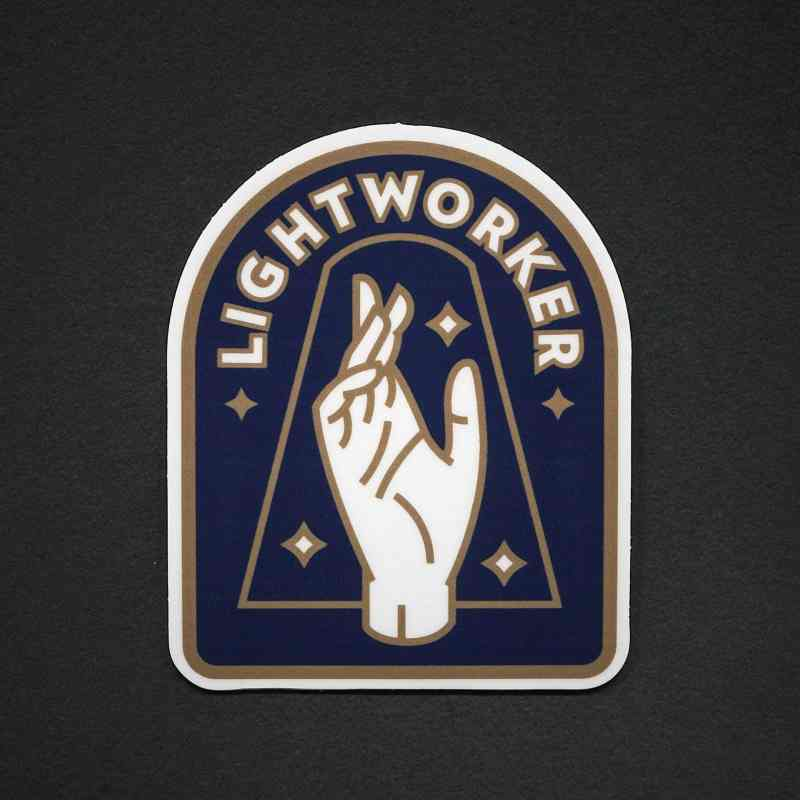 Lightworker Sticker