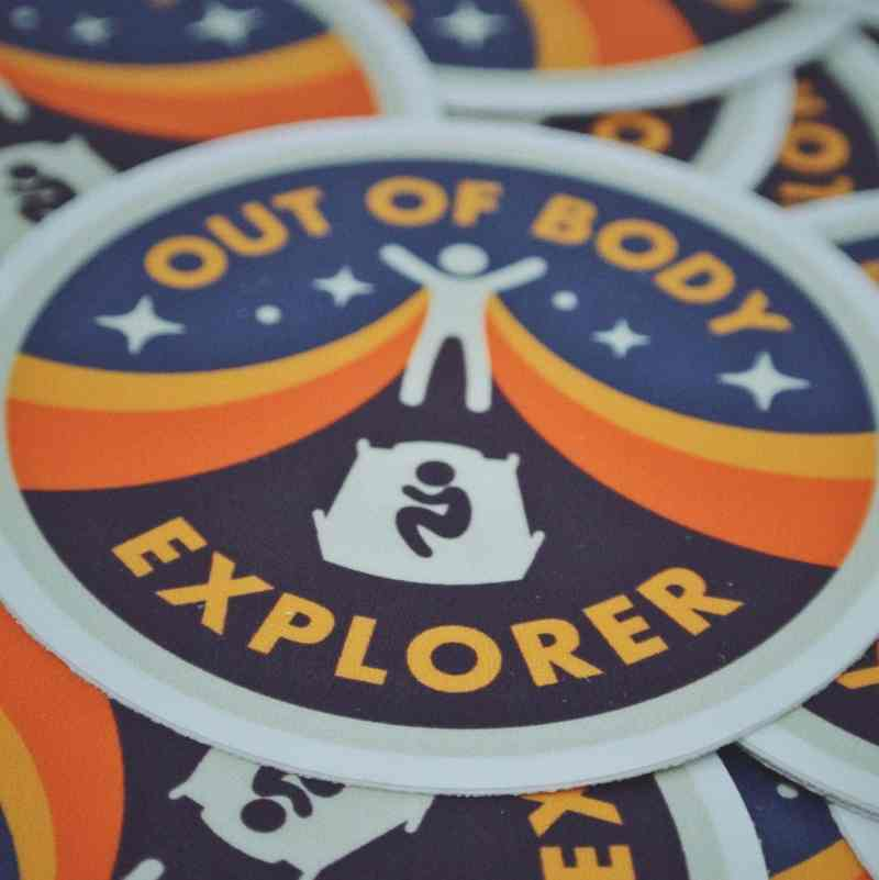 Out of Body Explorer Sticker