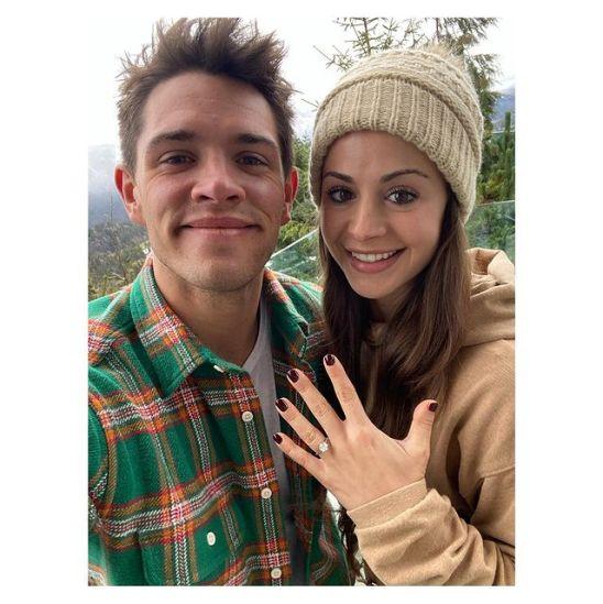 Casey-Cott-with-his-fiancé