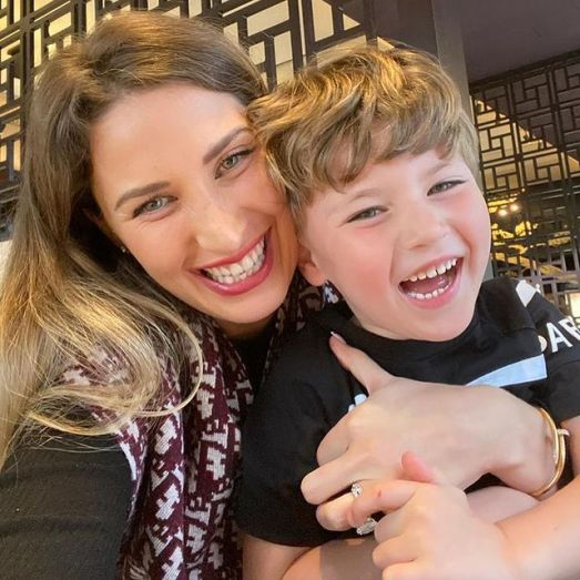 Charlotte-Trippier-with-her-son
