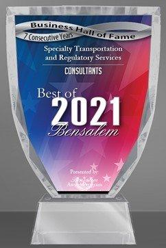 2021 Best of Bensalem Award